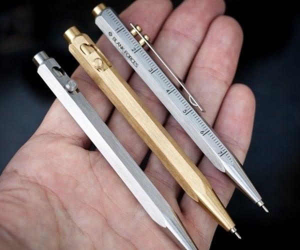 The EDC Pocket Bolt Pen: Pen-ultimate
