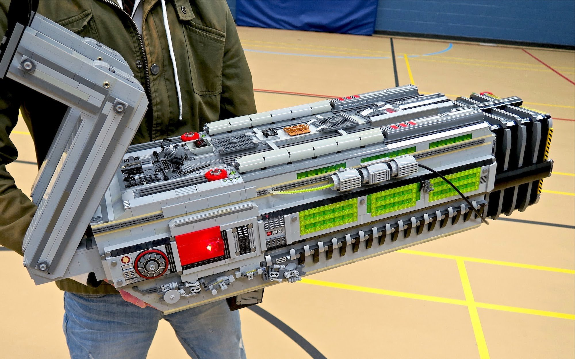 Doom BFG 9000 Made from LEGO