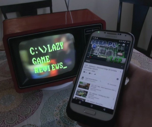 Chromecast in a CRT TV: Cast from the Past