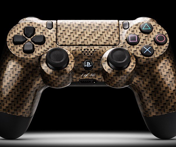 ColorWare DualShock 4 Ballistic Wrap: Kevlar Awaits
