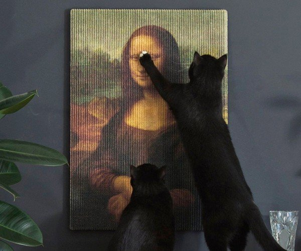 Copycat Art Scratchers: For Feline Art Critics