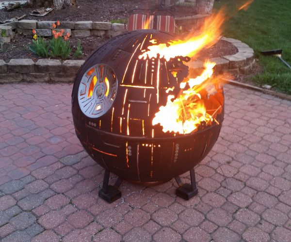 This Death Star Fire Pit Is the Ultimate Power in the Neighborhood