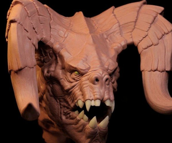 Sculptor Creates Amazing Deathclaw from Fallout 4