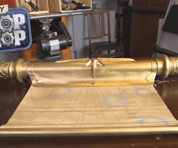 DIY Elder Scroll Replica: A Cheap Way to Go Insane