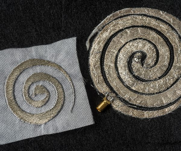 Finely Embroidered Circuits: Science & Technology & Arts & Crafts