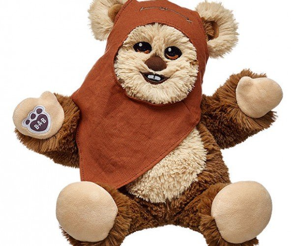 Yub Nub! Build Your Own Ewok at Build-A-Bear