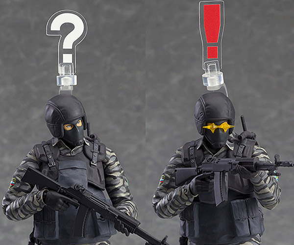 Figma Metal Gear Solid 2 Gurlukovich Soldier: Not so Spetsnaz