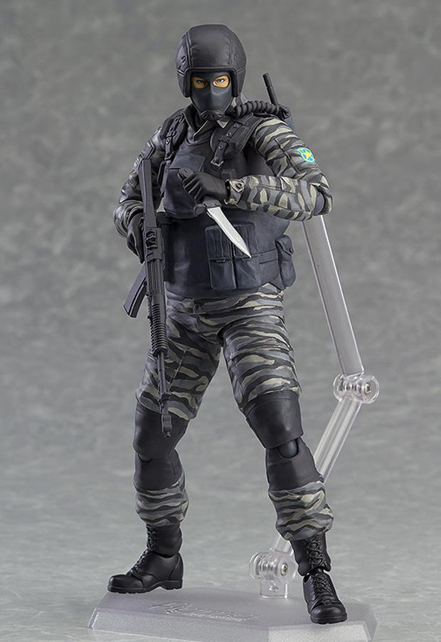 Figma Metal Gear Solid 2 Gurlukovich Soldier Not So