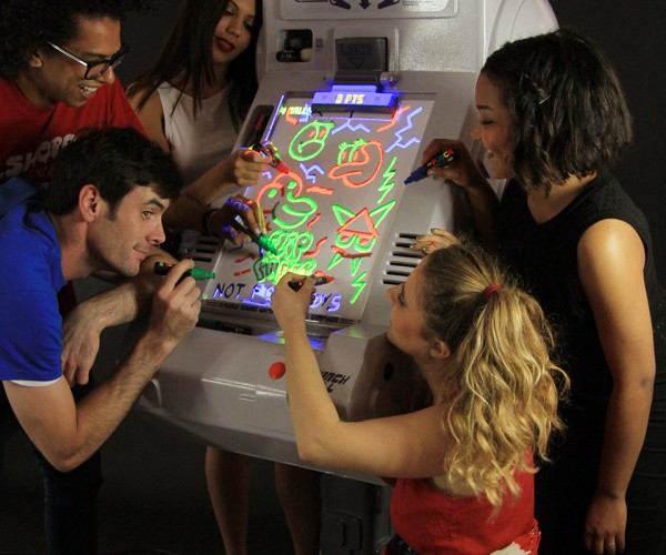 Flippaper Turns Drawings into Virtual Pinball Playfields: Tilt A Sketch