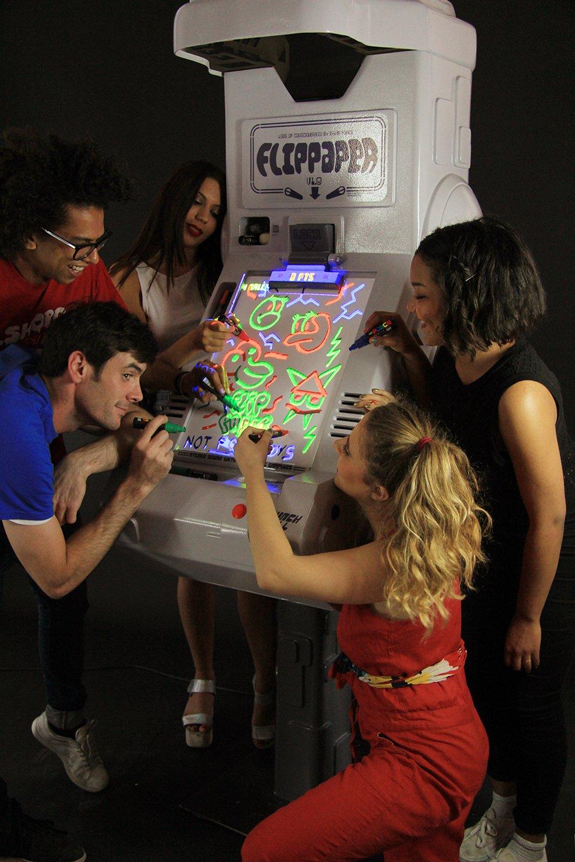 Flippaper Turns Drawings into Virtual Pinball Playfields
