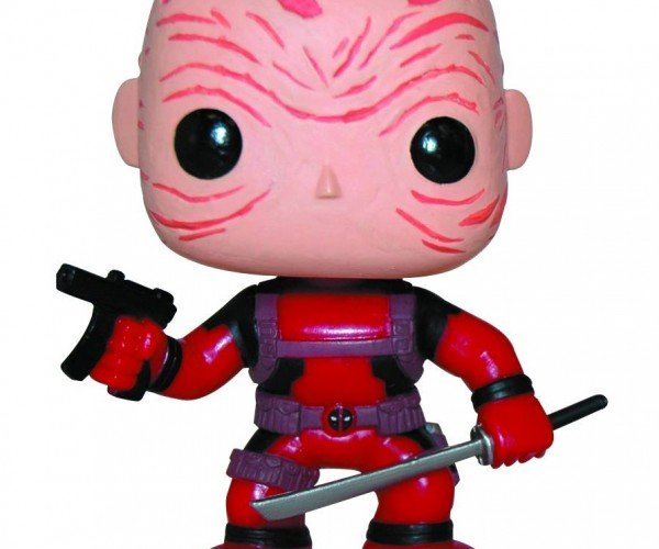 Maskless Deadpool POP! Figure Looks Like Ryan Reynolds Crossed with a Shar-Pei