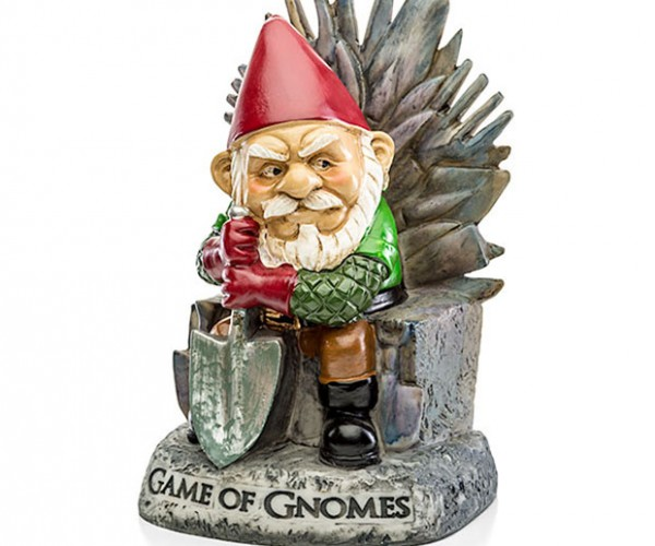 Game of Gnomes Garden Gnome: Weeds are Coming