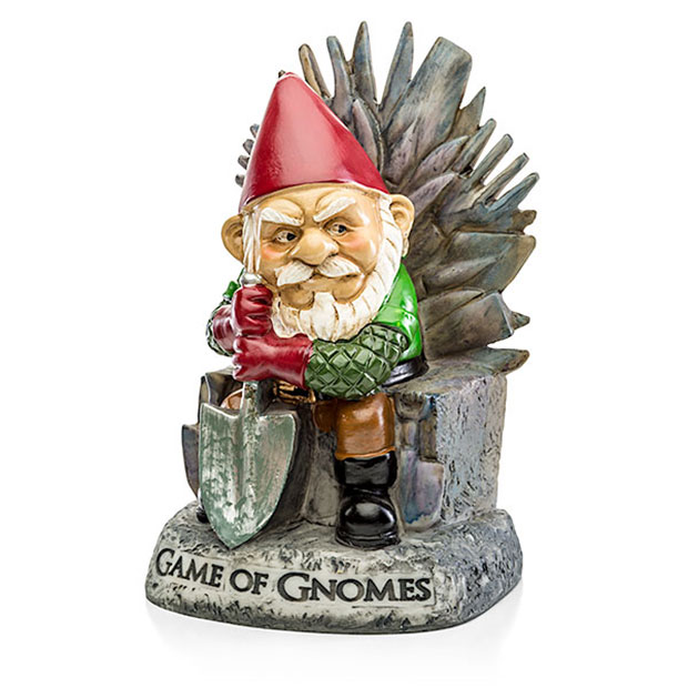 Game of Gnomes Garden Gnome Weeds are Coming