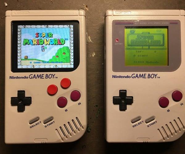 Raspberry Pi Game Boy Case Mod Has microSD Card Slot in Cartridge: Game Boy Zero