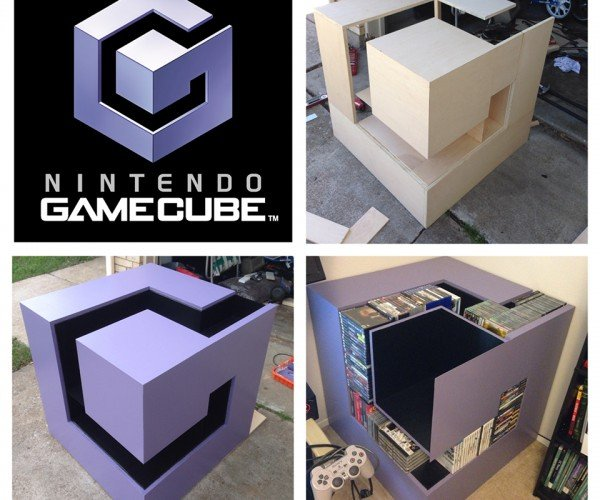 GameCube Logo Shelf: For Luigi's Mansion