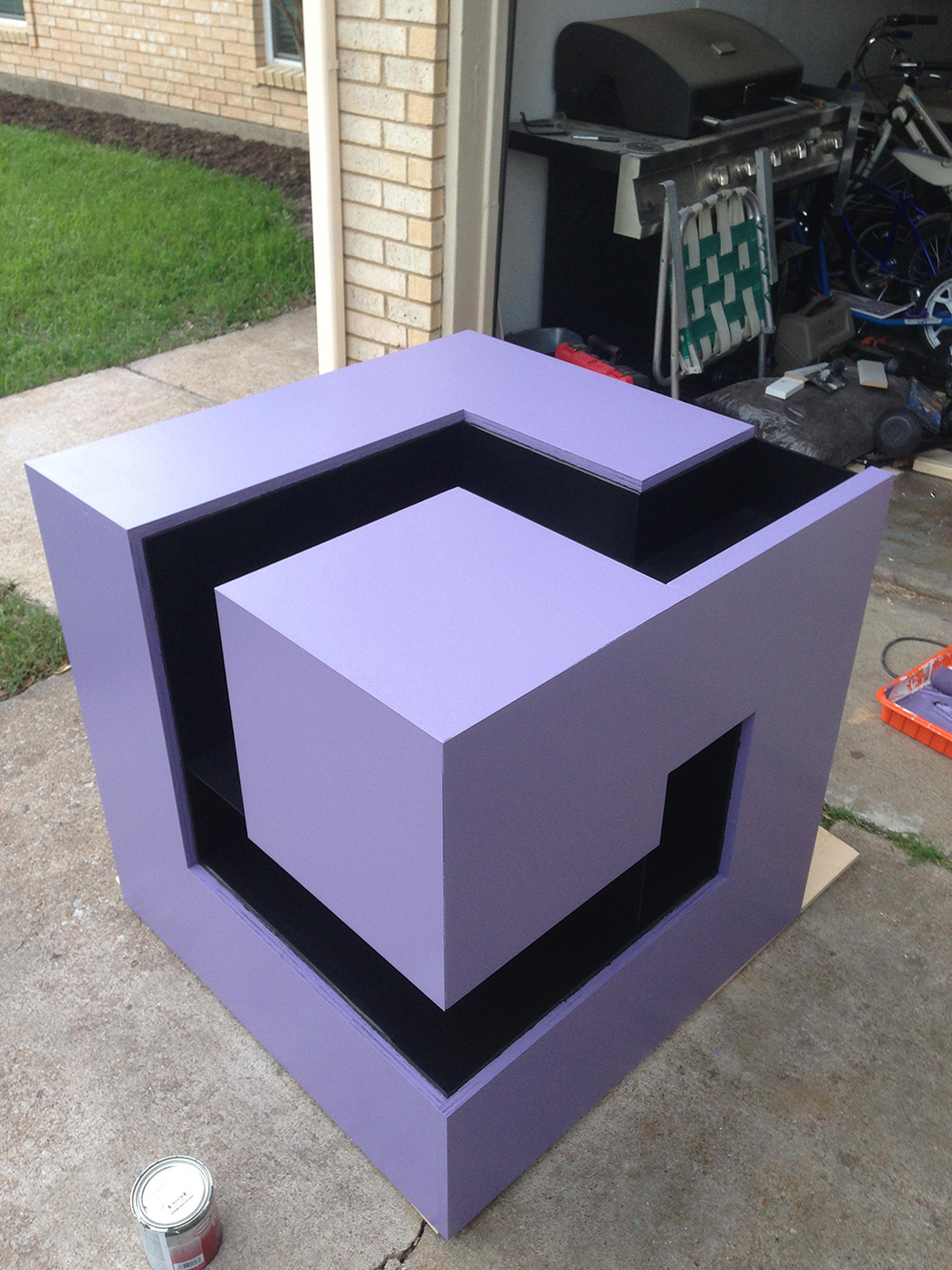 Gamecube Logo Shelf For Luigi S Mansion