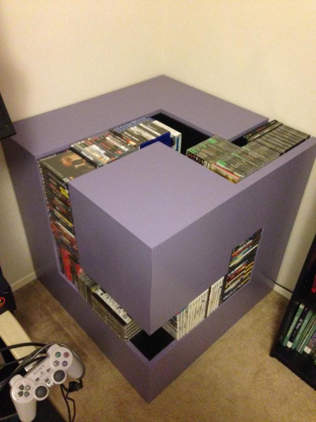 Gamecube Logo Shelf For Luigi S Mansion