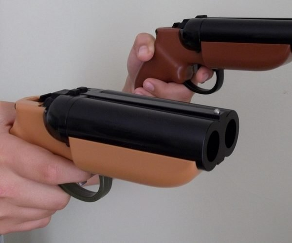 Double Barrel Paintball Gun Brings 2x the Pain