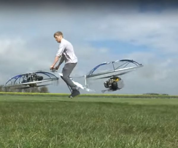 Homemade Hoverbike Is as Fun (and Dangerous) As It Looks