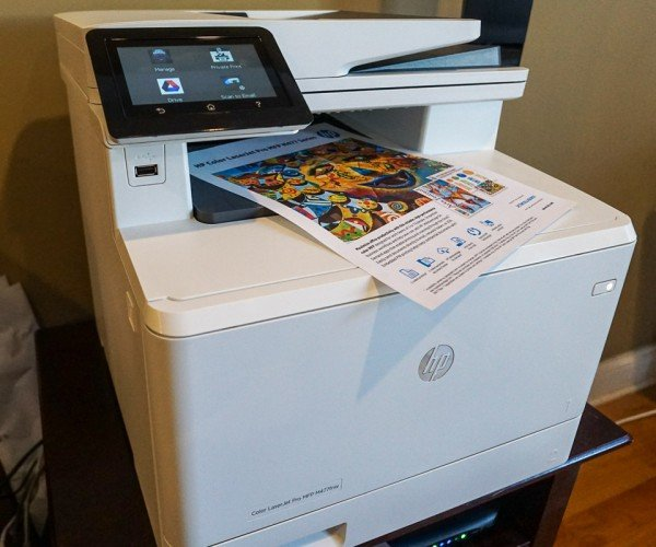 Hands on with the HP Color LaserJet Pro MFP M477