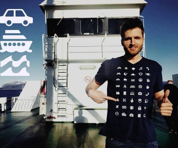 Icon Speak T-Shirt Lets You Communicate Easily in Foreign Countries