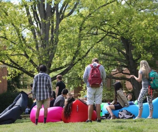 Koze Inflatable Hammock Keeps You Koze While Kamping