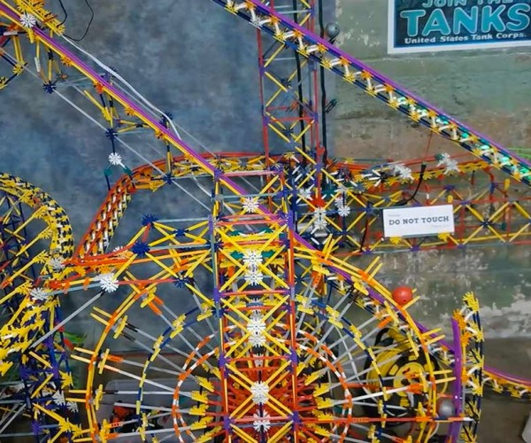 Largest K'NEX Ball Contraption Spans More Than 900 Feet