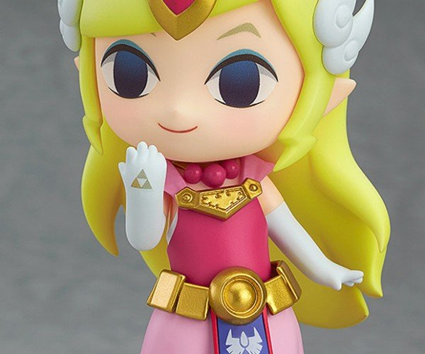 The Wind Waker Zelda Nendoroid Action Figure Wields the Triforce of Cuteness