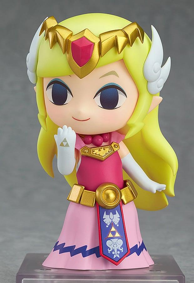 The Wind Waker Zelda Nendoroid Action Figure Wields The
