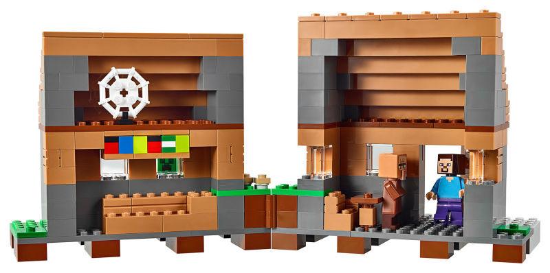 LEGO Minecraft Village Set Has 1600 Pieces