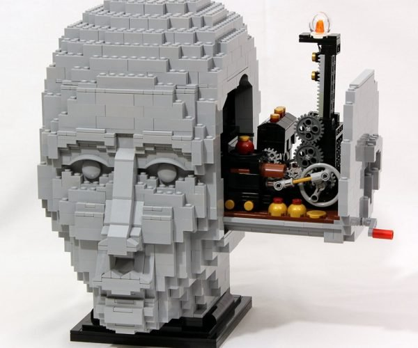 LEGO Engineer Kinetic Sculpture: Gearhead