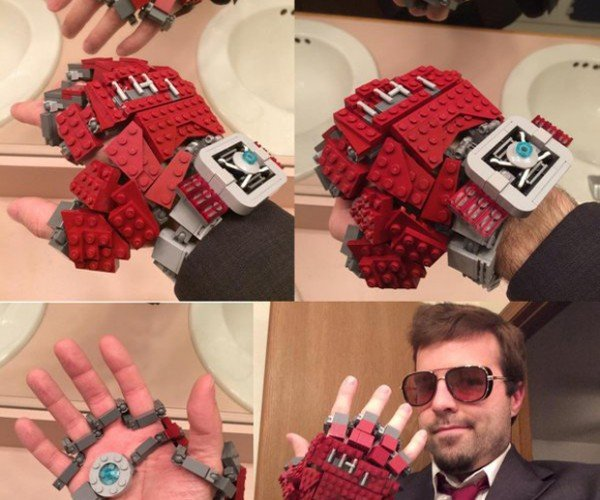 DIY LEGO Iron Man Watch Glove: Capt. America: Child's Play