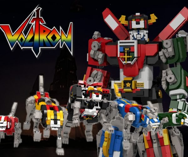 LEGO Voltron Concept: Defender of the Legolands