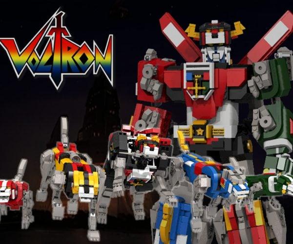 LEGO Voltron Concept: Defender of the Legolands