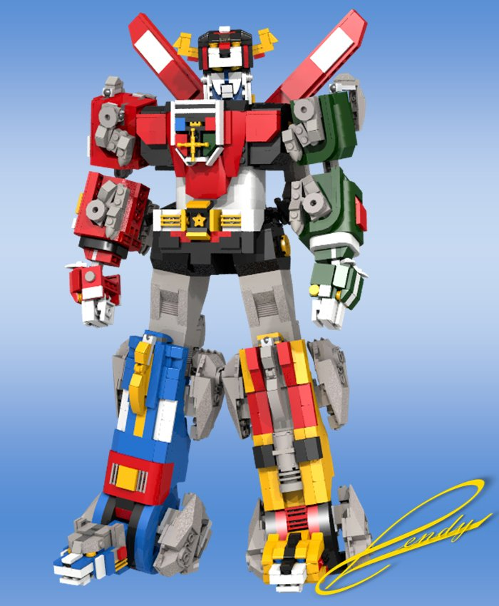 Lego Voltron Concept Defender Of The Legolands Technabob