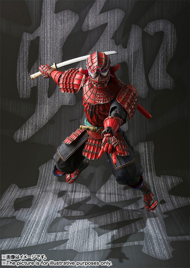 Manga Realization Samurai Spider Man Does Whatever His