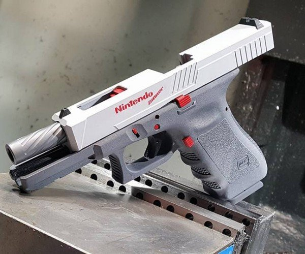 Working Glock NES Zapper Should Fire Bullet Bills
