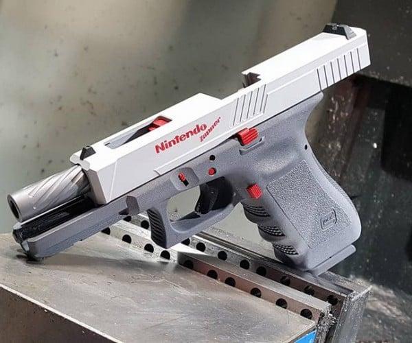 Working Glock NES Zapper Should Fire Bullet Bills