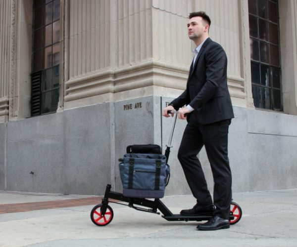 The Nimble Urban Is a Business Scooter