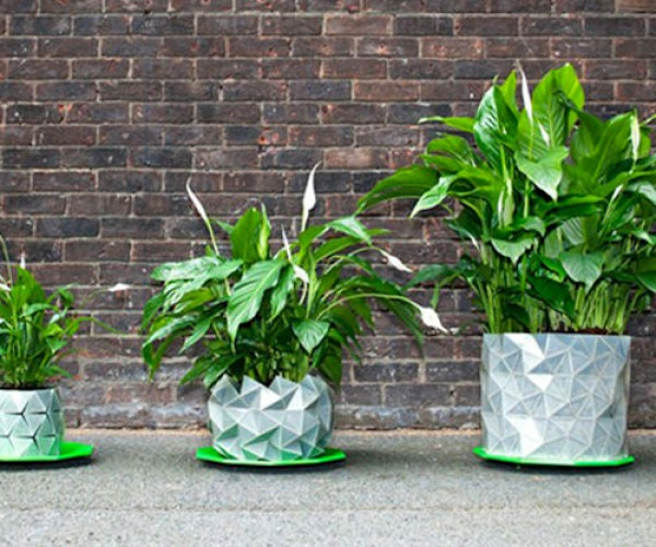 These Origami Pots Grow with Your Plant
