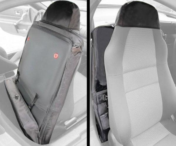 Roadster Seatback Luggage: Space-saving Suitcase