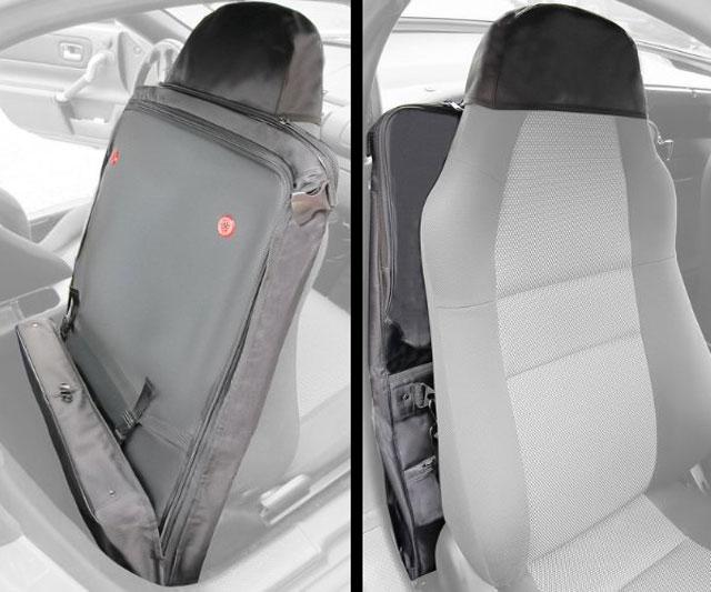 Roadster Seatback Luggage Space Saving Suitcase