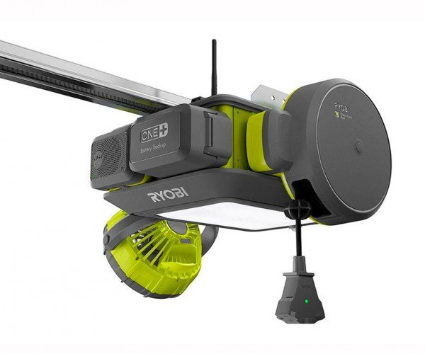 Ryobi Connected Garage Door Opener Offers Modular Add-ons