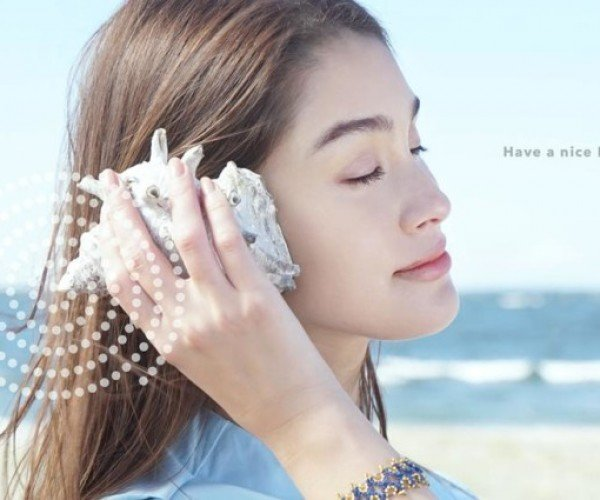 This Seashell Lets You Hear the Radio, Not the Ocean