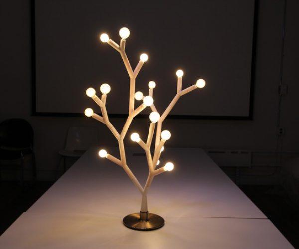 Splyt Light Modular Lighting Fixture: Bulb-Lamps Duality