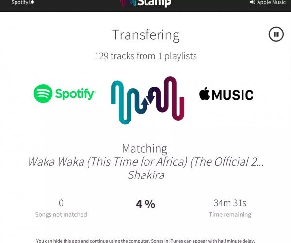 Deal: Transfer Your Streaming Music with STAMP Premium Music App