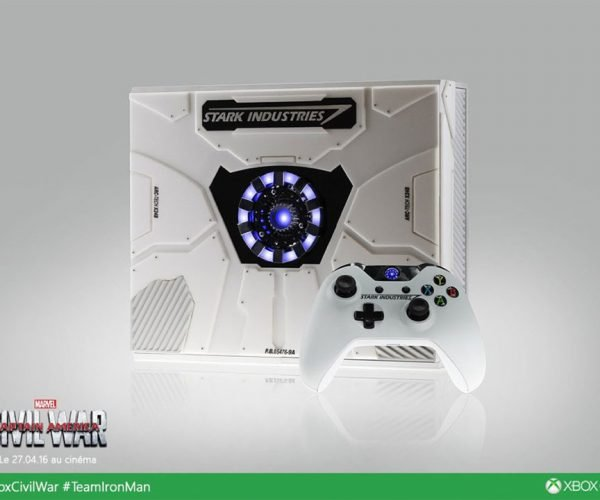 Stark Industries Custom Xbox One Celebrates Civil War