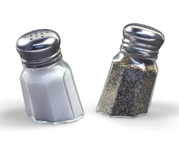 These Salt & Pepper Shakers Look Like They Sank into Your Table