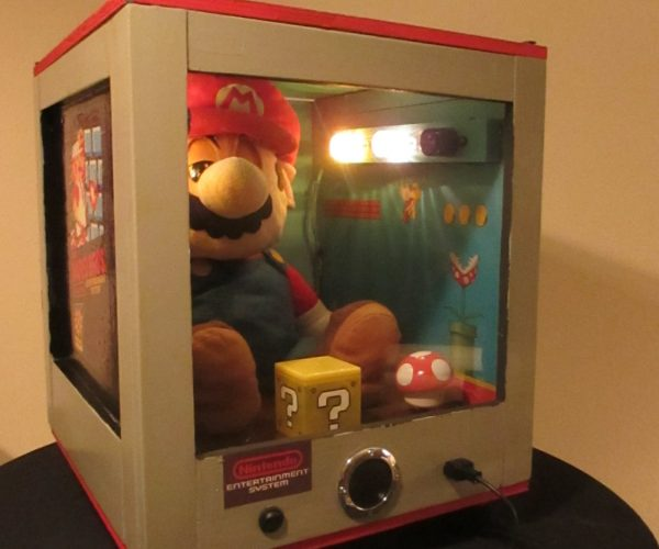 Animatronic Mario Machine: The Mario Wish Granter