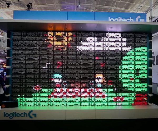 Logitech's 160 Keyboard LED Display: The Great Wall of Logitech G
